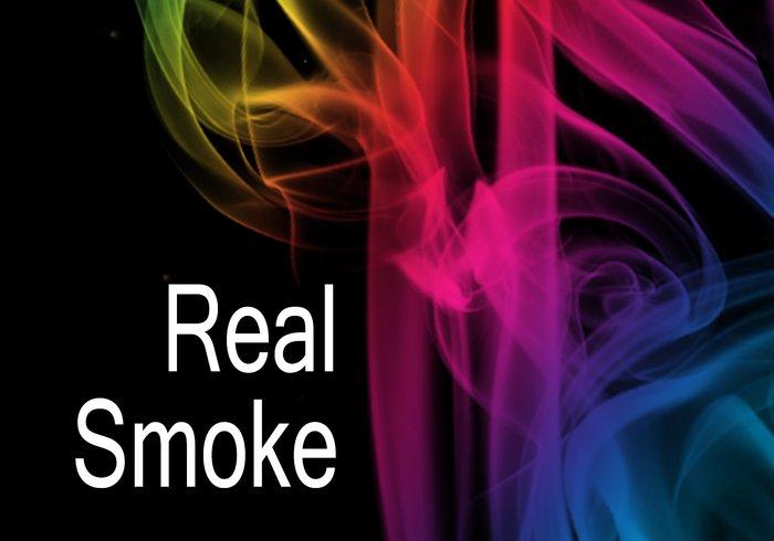 real smoke photoshop brushes
