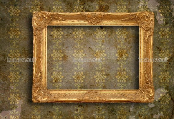 retro photo frame texture