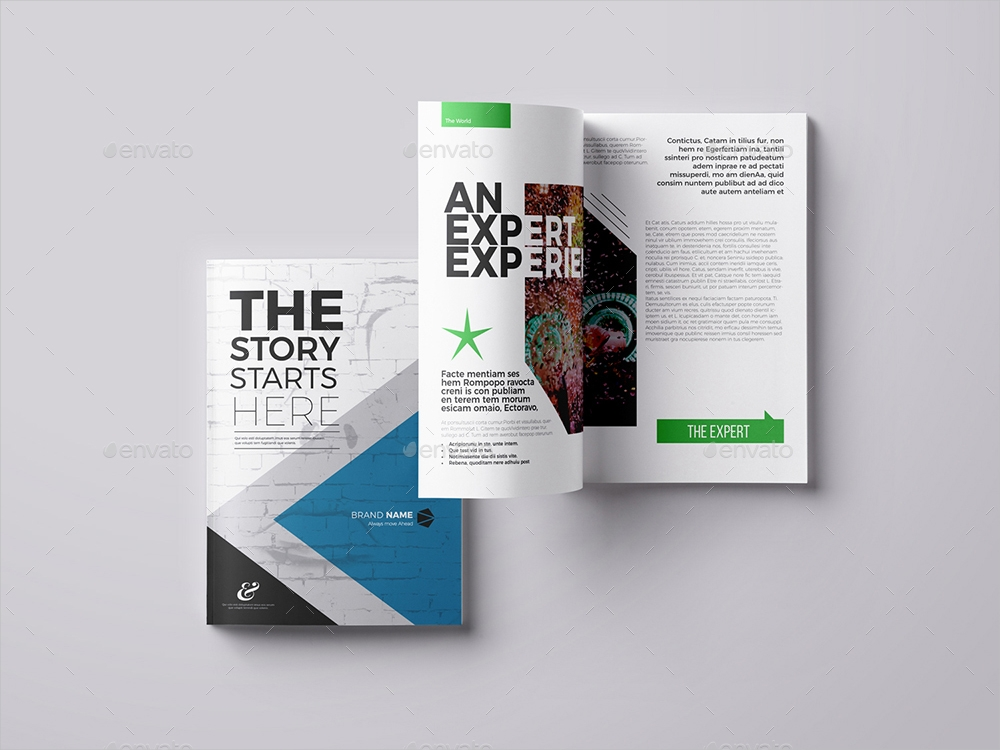 typography book layout
