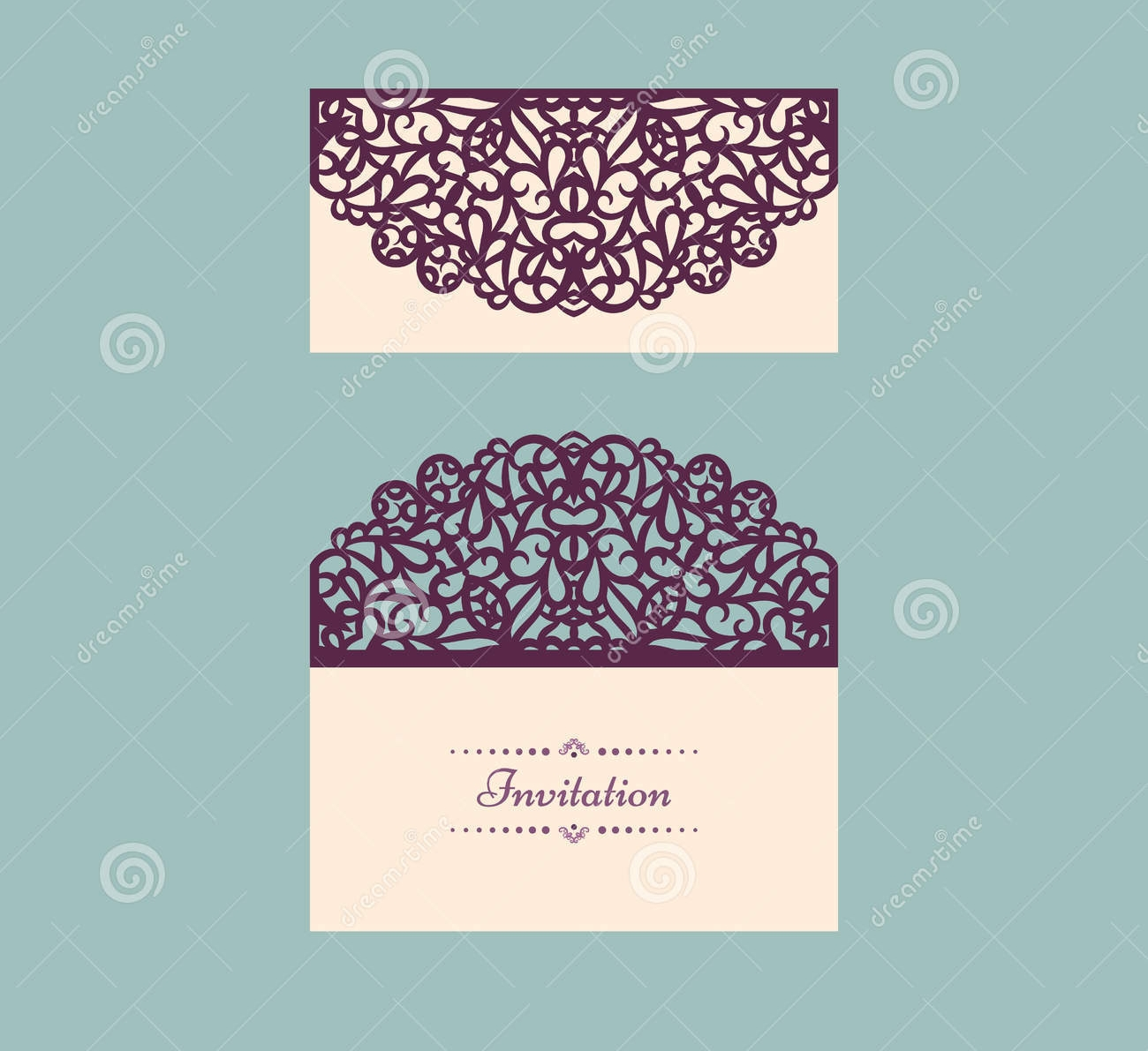 vector wedding envelope