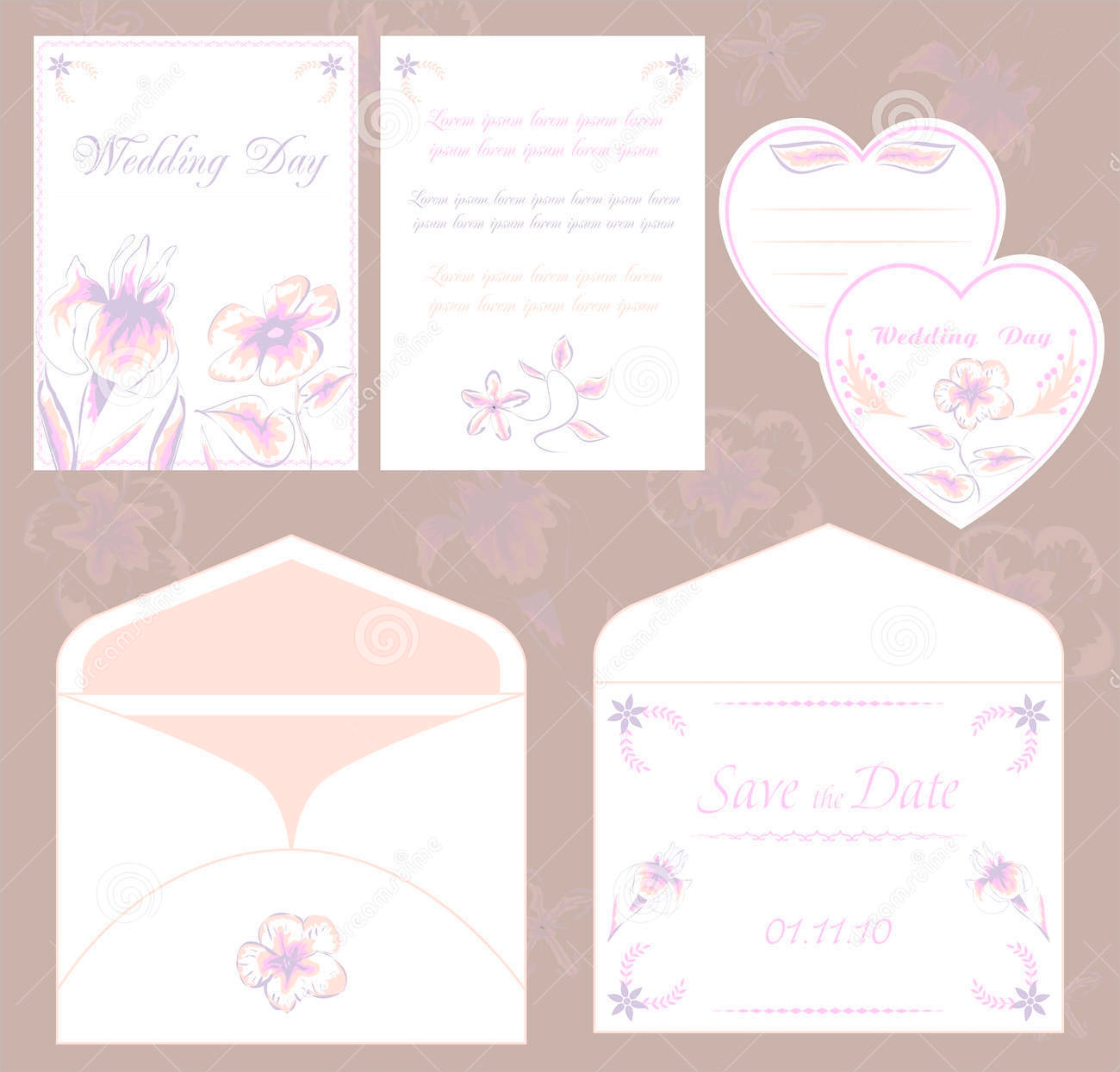wedding invitation envelope design