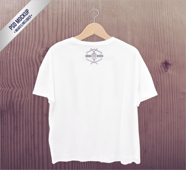 white t shirt mock up