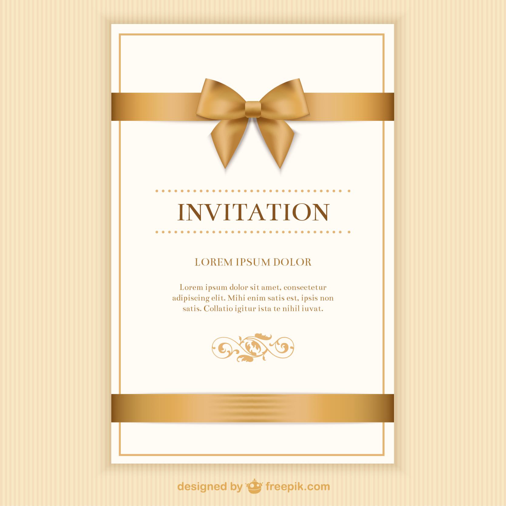 12  free invitation card designs