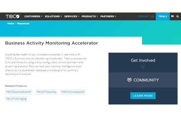 tibcobusiness activity monitoring software