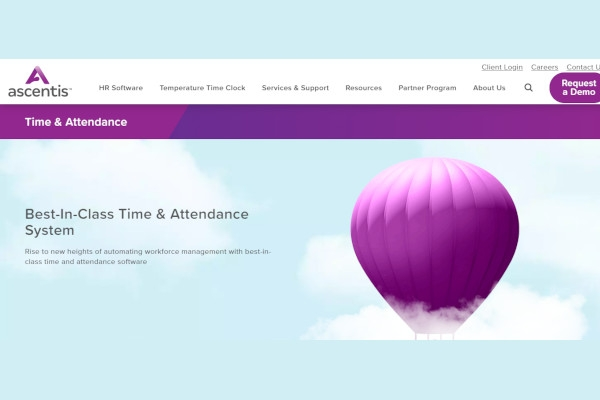 ascentis time attendance software