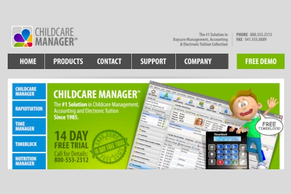 childcare manager professional