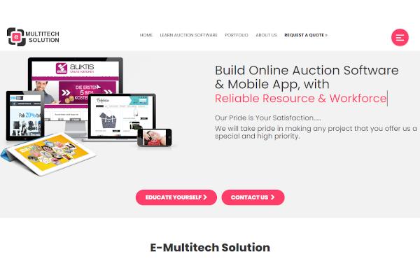 e multitech auction
