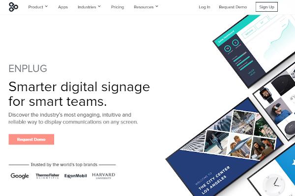 enplug digital signage