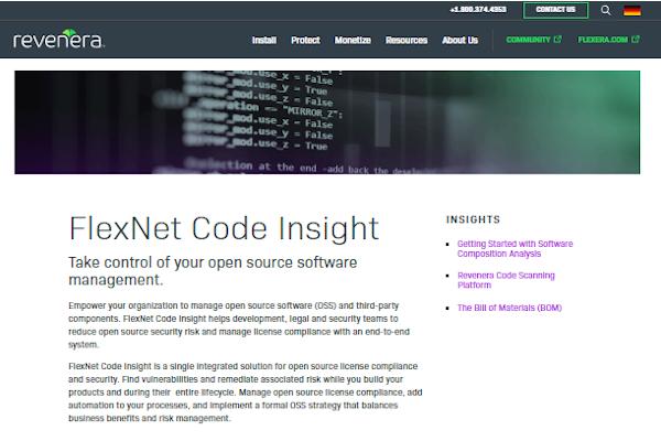 flexnet code insight