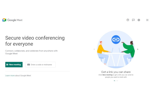 google hangouts meet