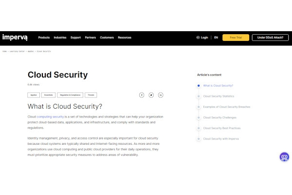 imperva cloud application security