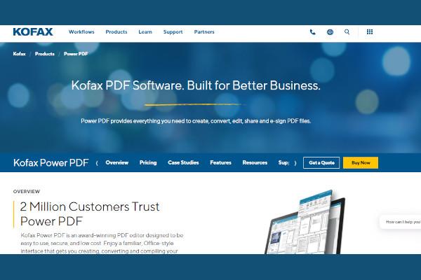 kofax power pdf