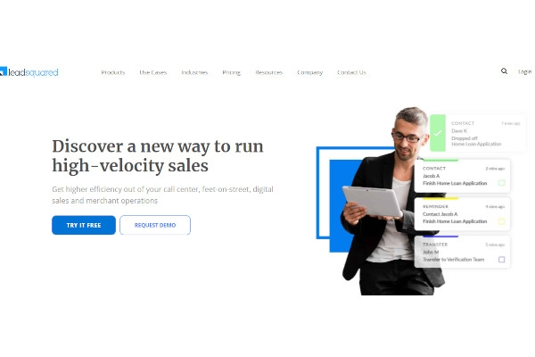 leadsquared sales mobile crm