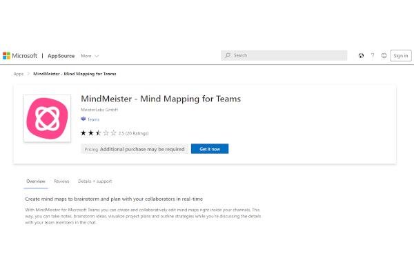 microsoft mind mapping