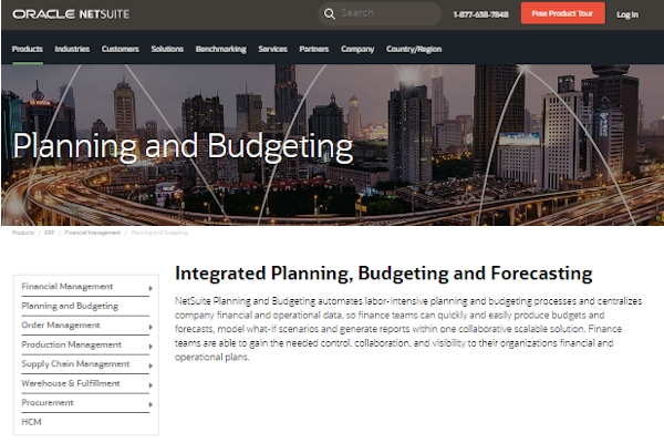 netsuite budgeting and forecasting