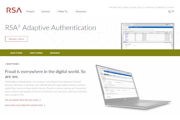 rsa adaptive authentication