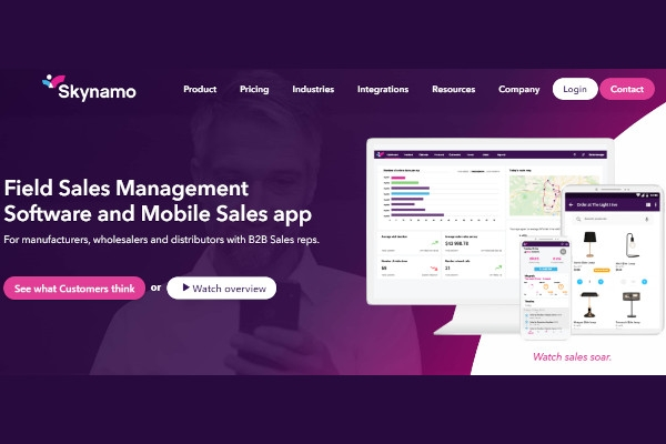 skynamo sales platform