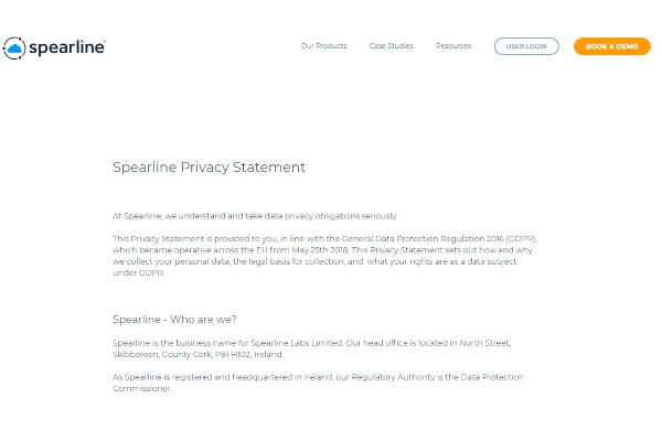 spearline data protection