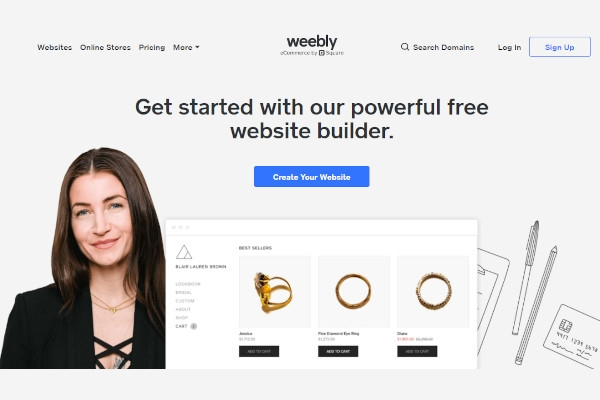 square e commerce formerly weebly