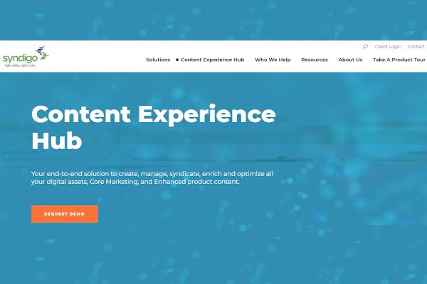 syndigo content experience hub
