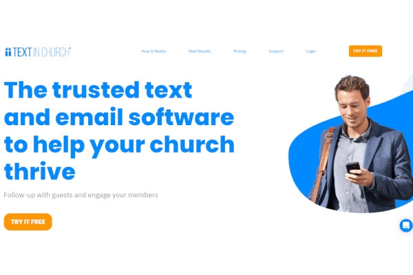 text in church