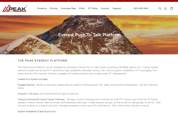 the peak everest platform