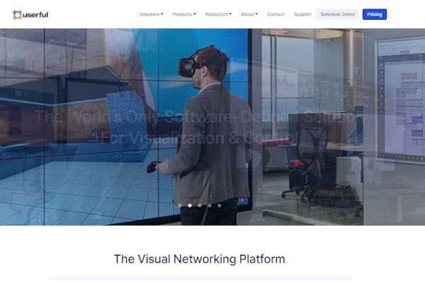 userful visual networking platform
