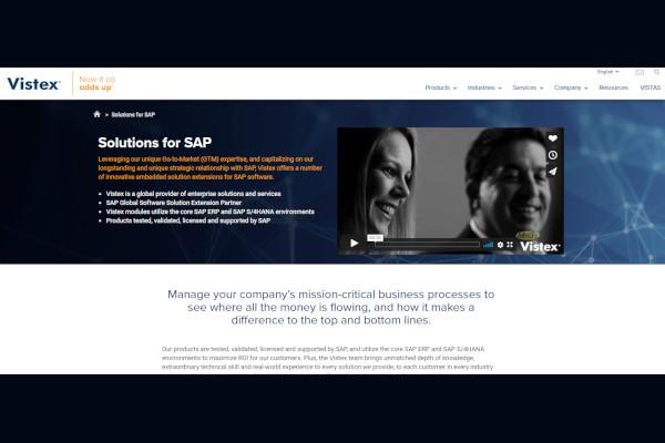 vistex solutions for sap