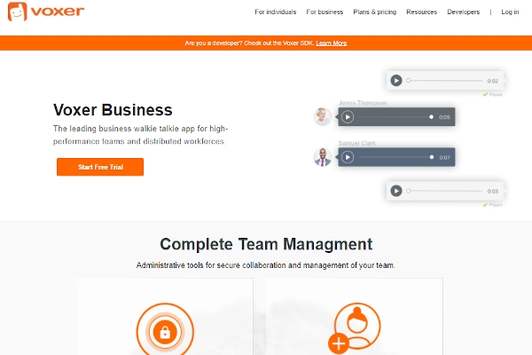 voxer business