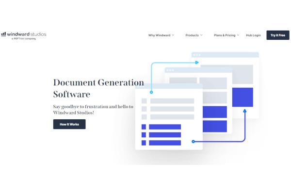 windward core document generation components