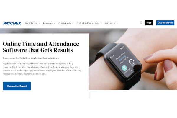 paychex time attendance software