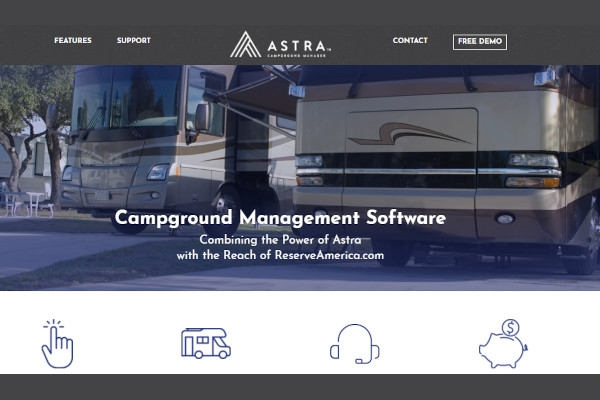 astra campground manager