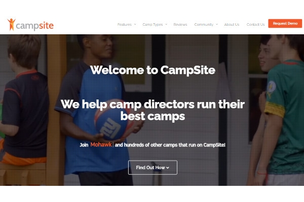 campsite software