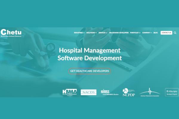 chetu hospital management software