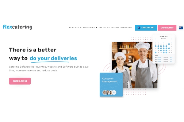 flex catering software