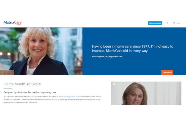 matrixcare home health hospice