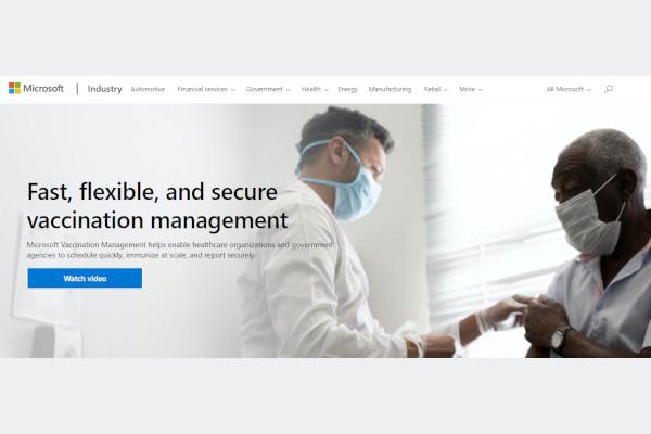 microsoft vaccine management