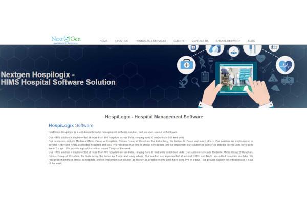 nextgen hospital management software
