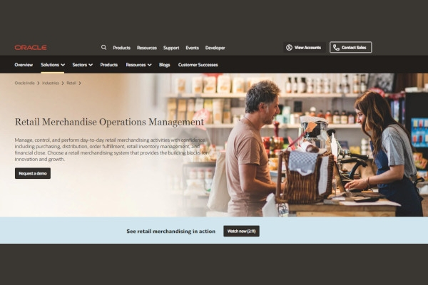 oracle merchandising software