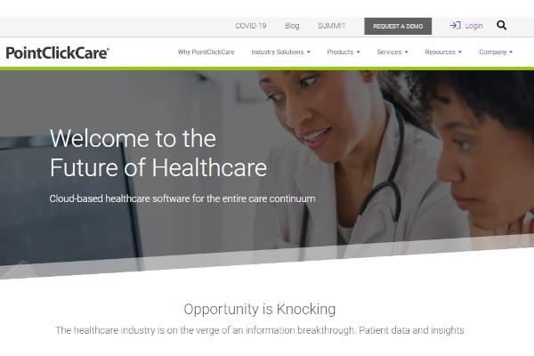 pointclickcare home health care platform