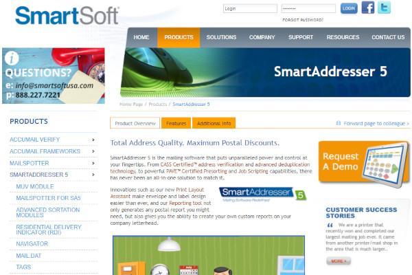 smartaddresser 5