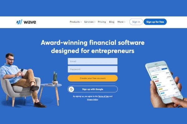 accounting by wave