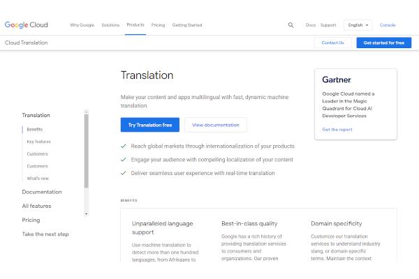 cloud translation api