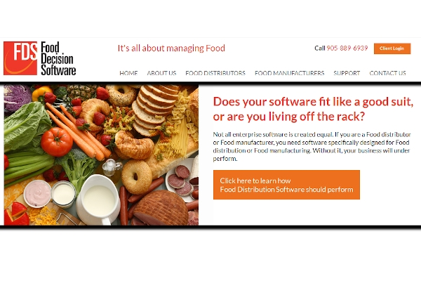 food decision software