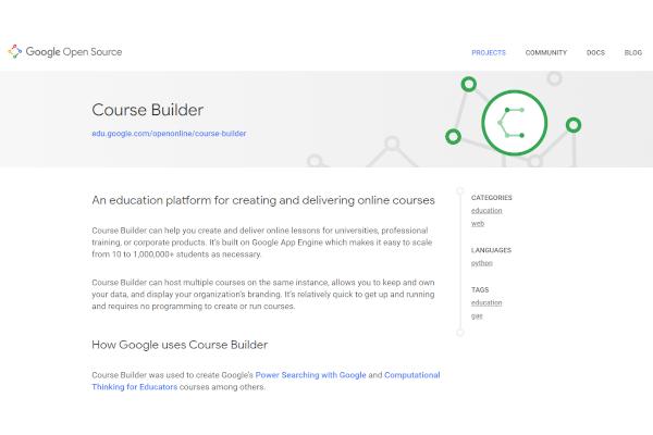 google course builder