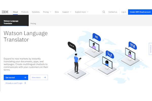 ibm watson language translator