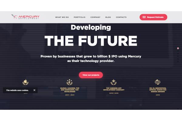 mercury development