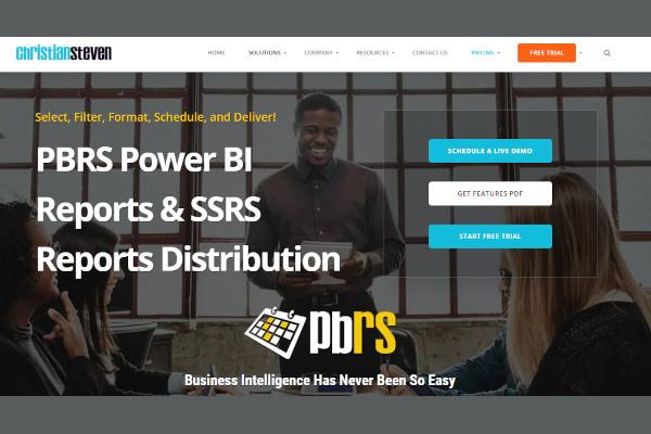 pbrs power bi reports distribution