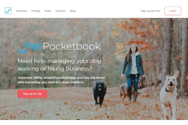 pet pocketbook