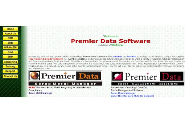 premier data software